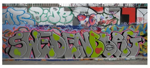 Swedenborg graffiti
